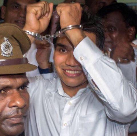 Namal Photo via Namal Rajapaksa Facebbok page