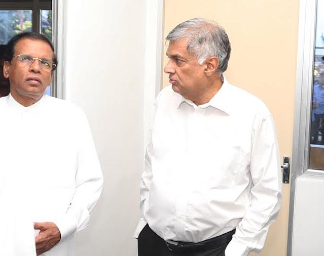 Ranil and Maithri
