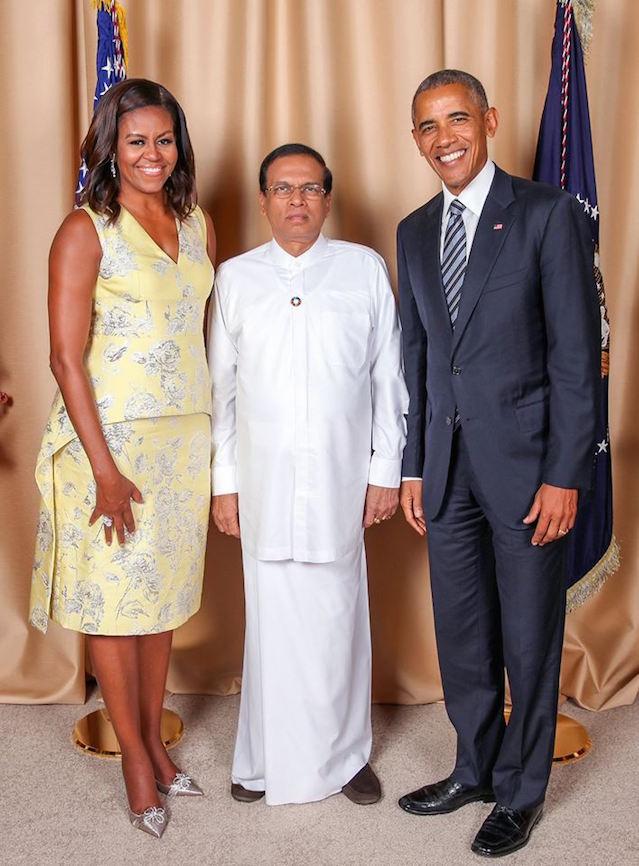 maithri-and-obama