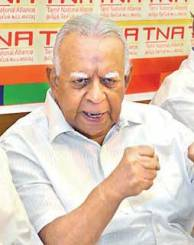 The Avuncular Sampanthan: Choosing SJV or Mavai?