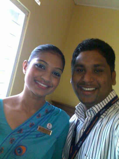 nalaka-de-soyza-and-anudewni-perera-srilankan-airlines