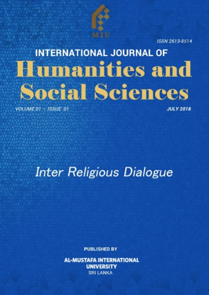 IJHSS: A Journal As Knowledge & A Vehicle Of Academic