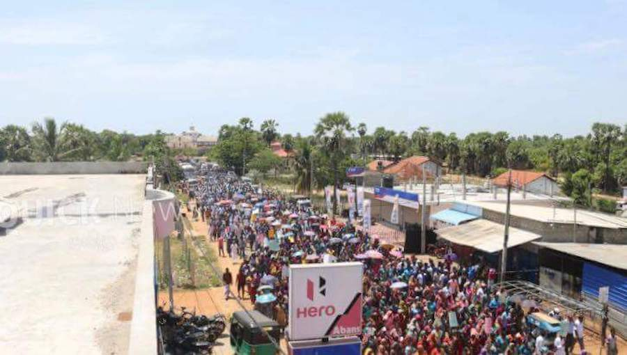 Protest March Against Mahaweli Colonization – Colombo Telegraph