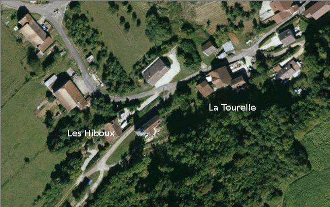 La Tourelle Colombotte Satelietfoto