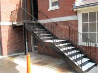 Commercial Exterior Wood Stair Details Pictures to Pin on ...