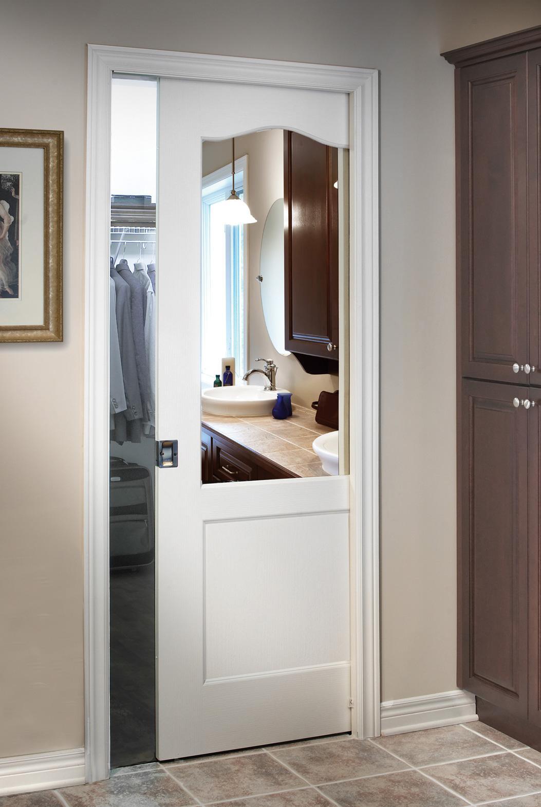 PreAssembled pocket door frame  Colonial Elegance