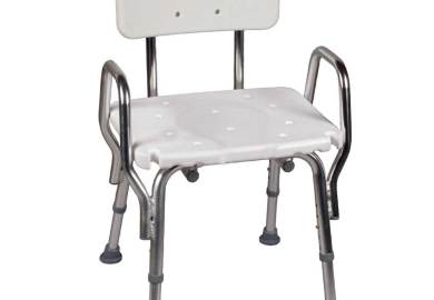 Padded Shower Chair With Back And Arms