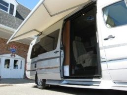 Winnebago Touring Coach™ ERA Side Door Open