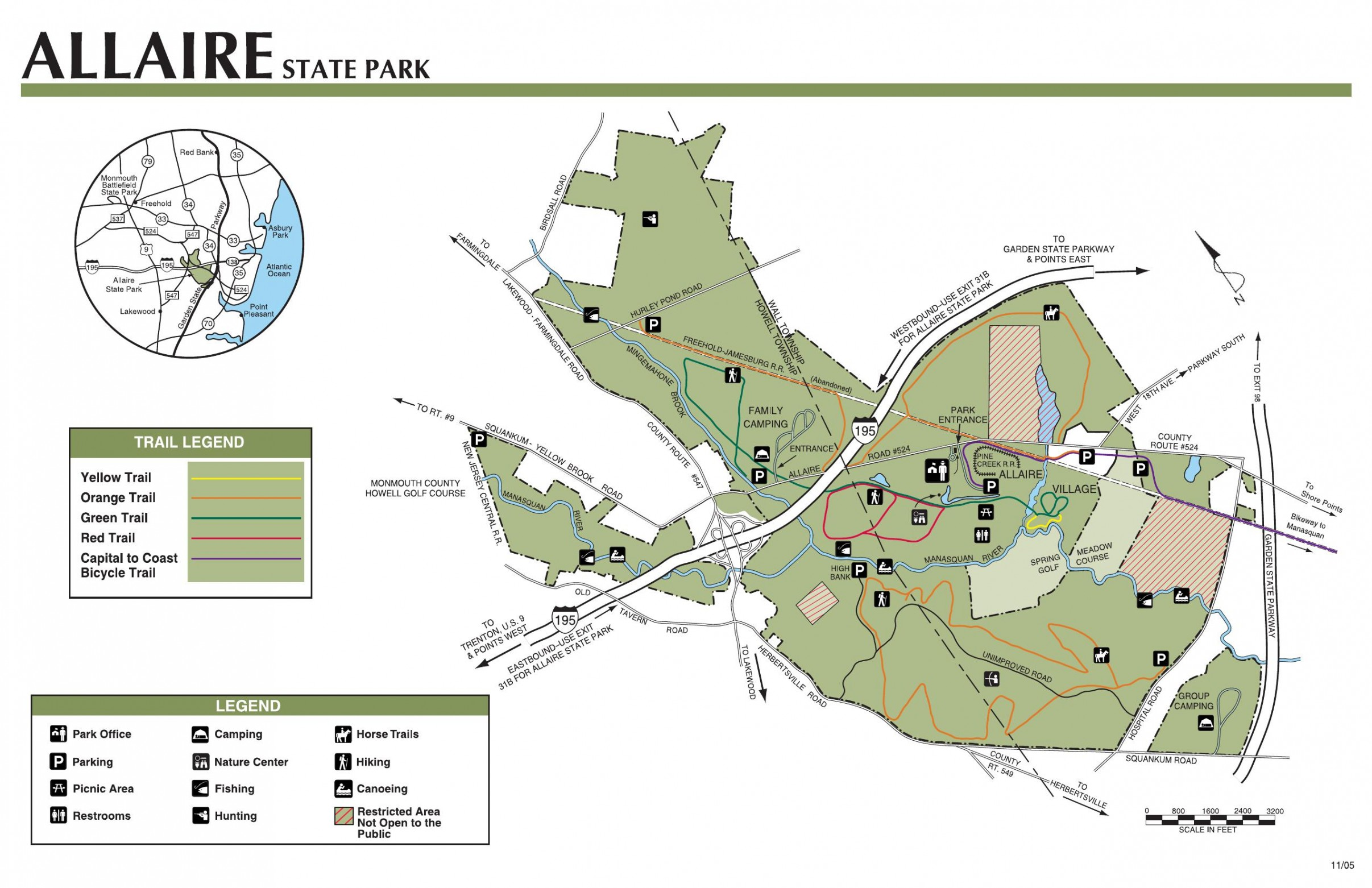 Colonial Rv S Top Campground Pick Allaire State Park