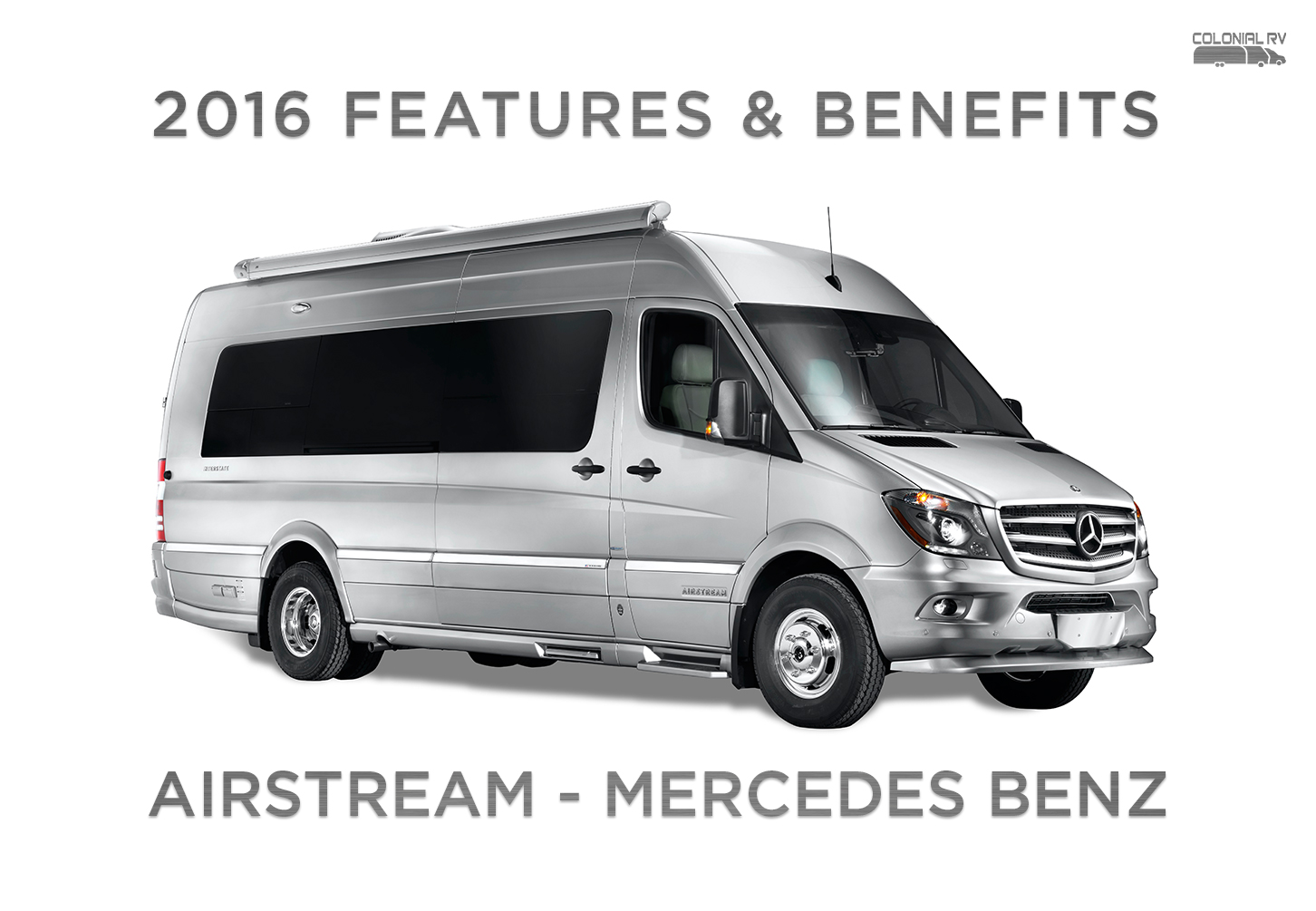 2016 airstream interstate mercedes benz sprinter features for Mercedes benz airstream interstate