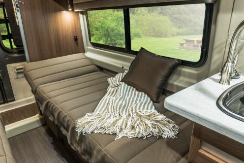 Winnebago Travato Road Side 59K Twin Bed