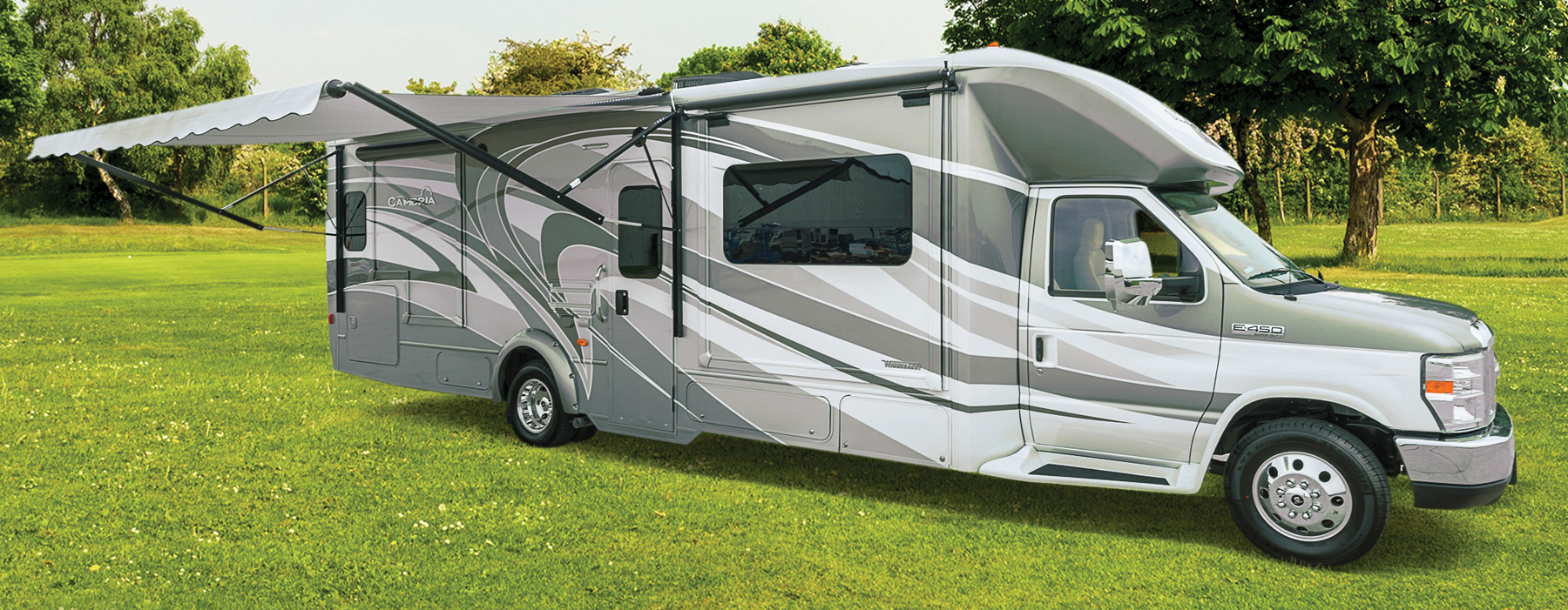 Winnebago cambria class c motorhome unwind inside out for Used motor homes class c