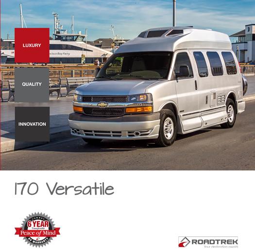 Roadtrek 170 Versatile 2017 Brochure