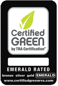 Airstream is now emerald rated