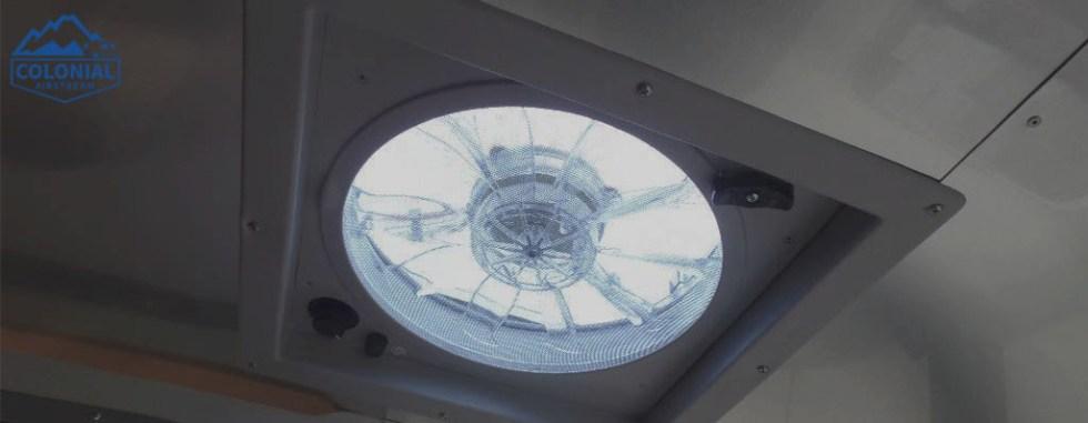 Airstream Basecamp ventilation controls