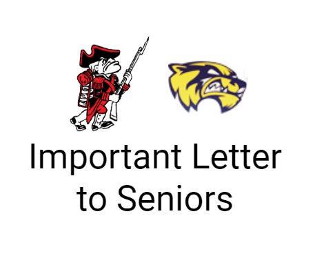 Important Letter to Seniors