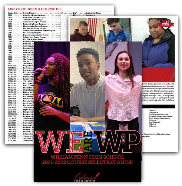 William Penn High School Course Catalog 2021-2022