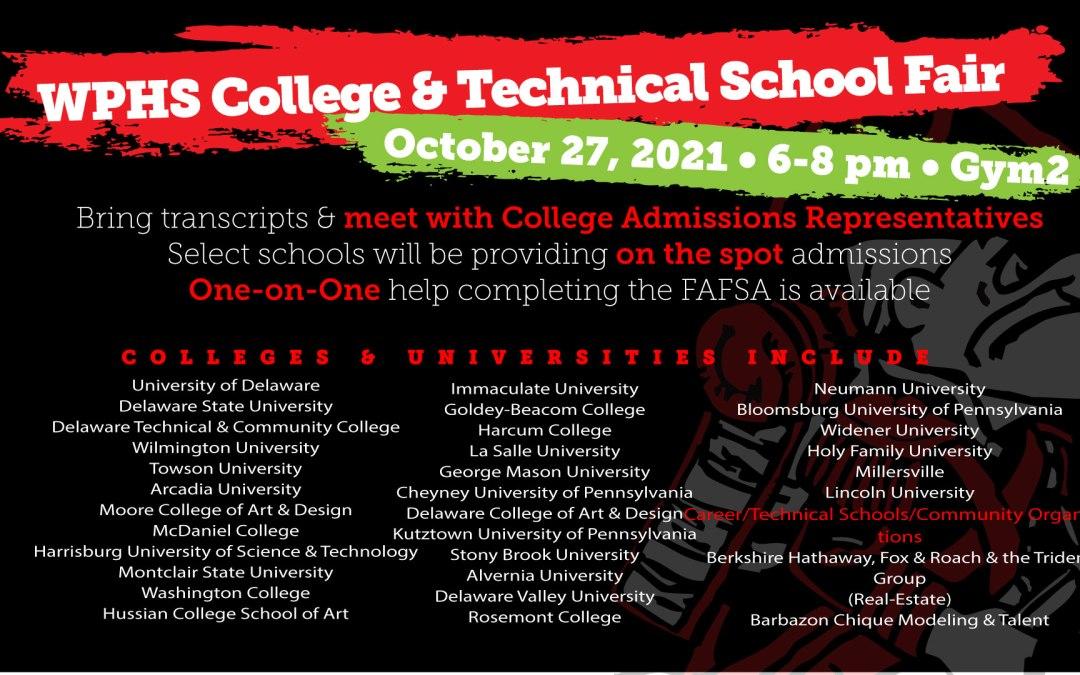 WPHS Kolej ve Teknik Okul Fuarı
