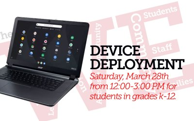 Device Deployment: Saturday, March 28th from 12:00-3:00 PM