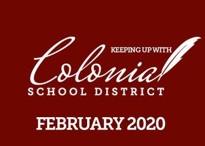 Colonial'dan haberdar olmak - Şubat 2020