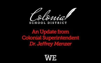 Superintendent's Update: 4/3/2020