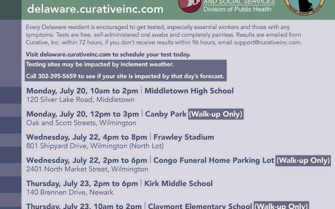 Covid Test Siteleri - 20-25 Temmuz