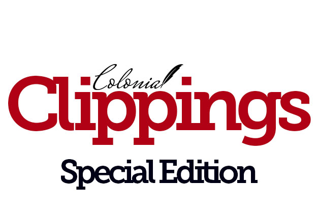 Colonial Clippings: 8/25/2020