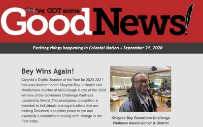 Buenas noticias - 22 de septiembre