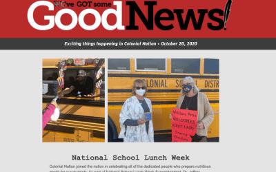 Buenas noticias - 15 de octubre