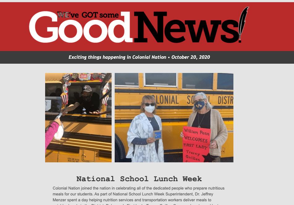 Good News – October 15