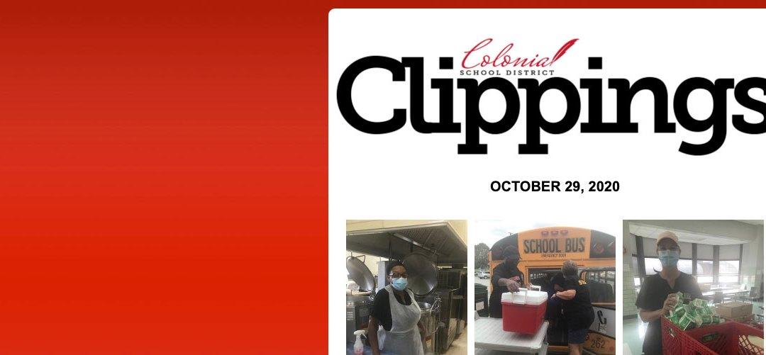 Colonial Clippings - 29 Ekim
