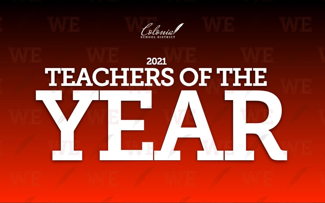 Celebrating our Teachers of the Year