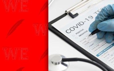 Evento de prueba de Covid DOMINGO 29 DE NOVIEMBRE de 10 am a 3 pm
