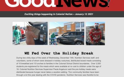 Buenas noticias - 12 de enero