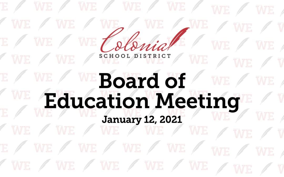 Ocak 2021 Talim ve Terbiye Kurulu Toplantısı