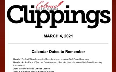 Recortes coloniales: 4 de marzo de 2021