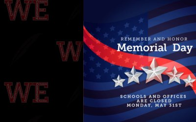 Escuelas y oficinas cerradas el 31 de mayo