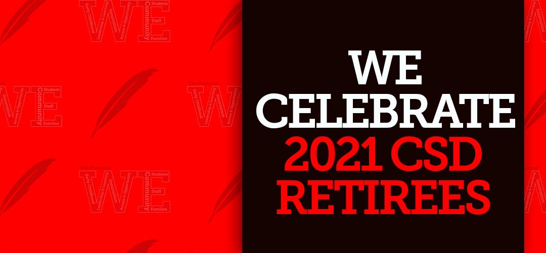 Celebramos: Los Jubilados 2021 del Distrito Escolar Colonial