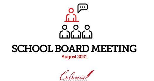 اجتماع مجلس الإدارة في أغسطس 2021