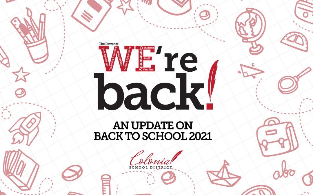 Okula Dönüş Güncellemesi: 12 Ağustos 2021