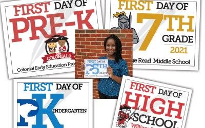 Primer día de signos escolares 2021