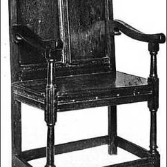 Early American Chair Styles And Ottoman Sets Target Colonial Sense Antiques Furniture English Jacobean Armed Wainscot