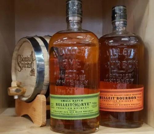 bulleit bourbon and rye