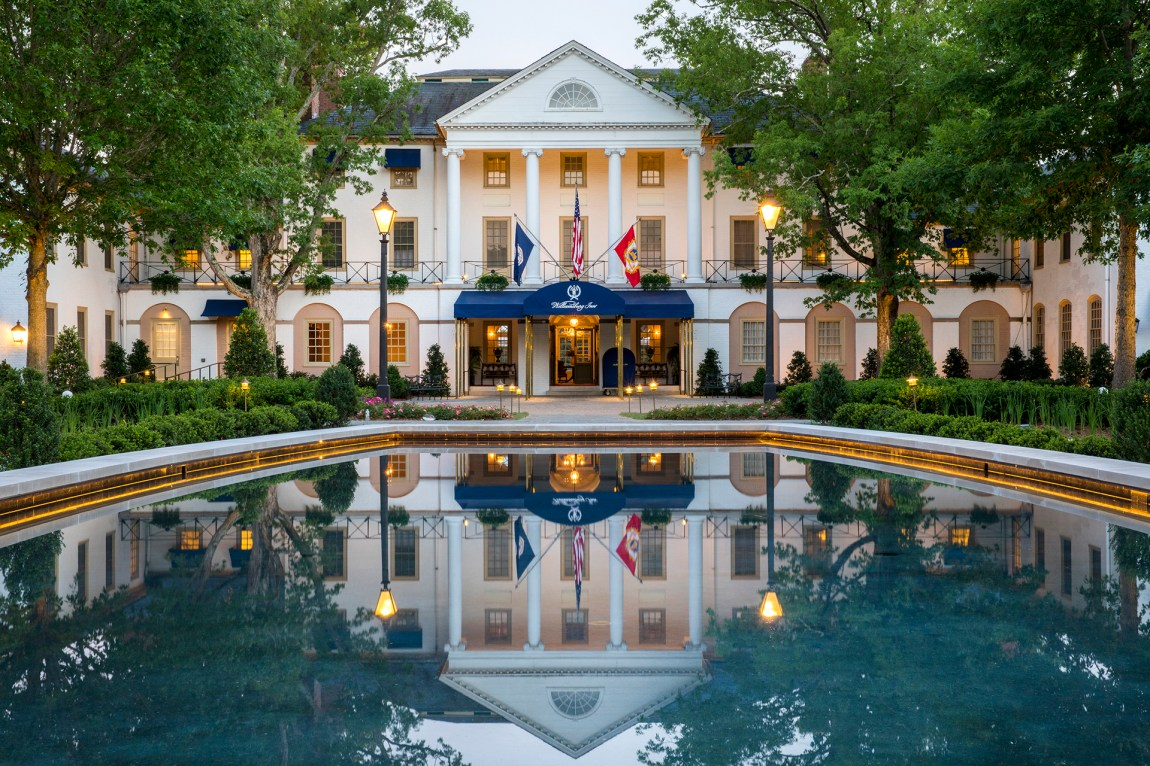 The Williamsburg Inn in Colonial Williamsburg, Virginia, Best hotels in Virginia, Great Southern Hotels, Pretty Southern Resorts