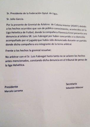 carta-Gremial-de-Arbitros-de-Colonia