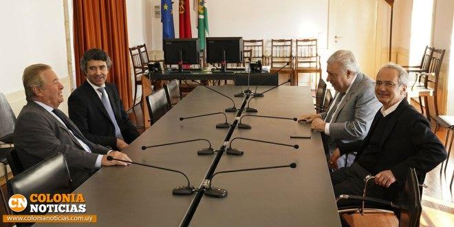 Moreira expresó su satisfacción por la gira en Portugal