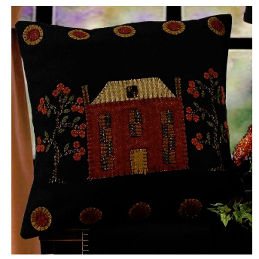 Primitive Hooked Wool Pillows, rugs and wall hangings