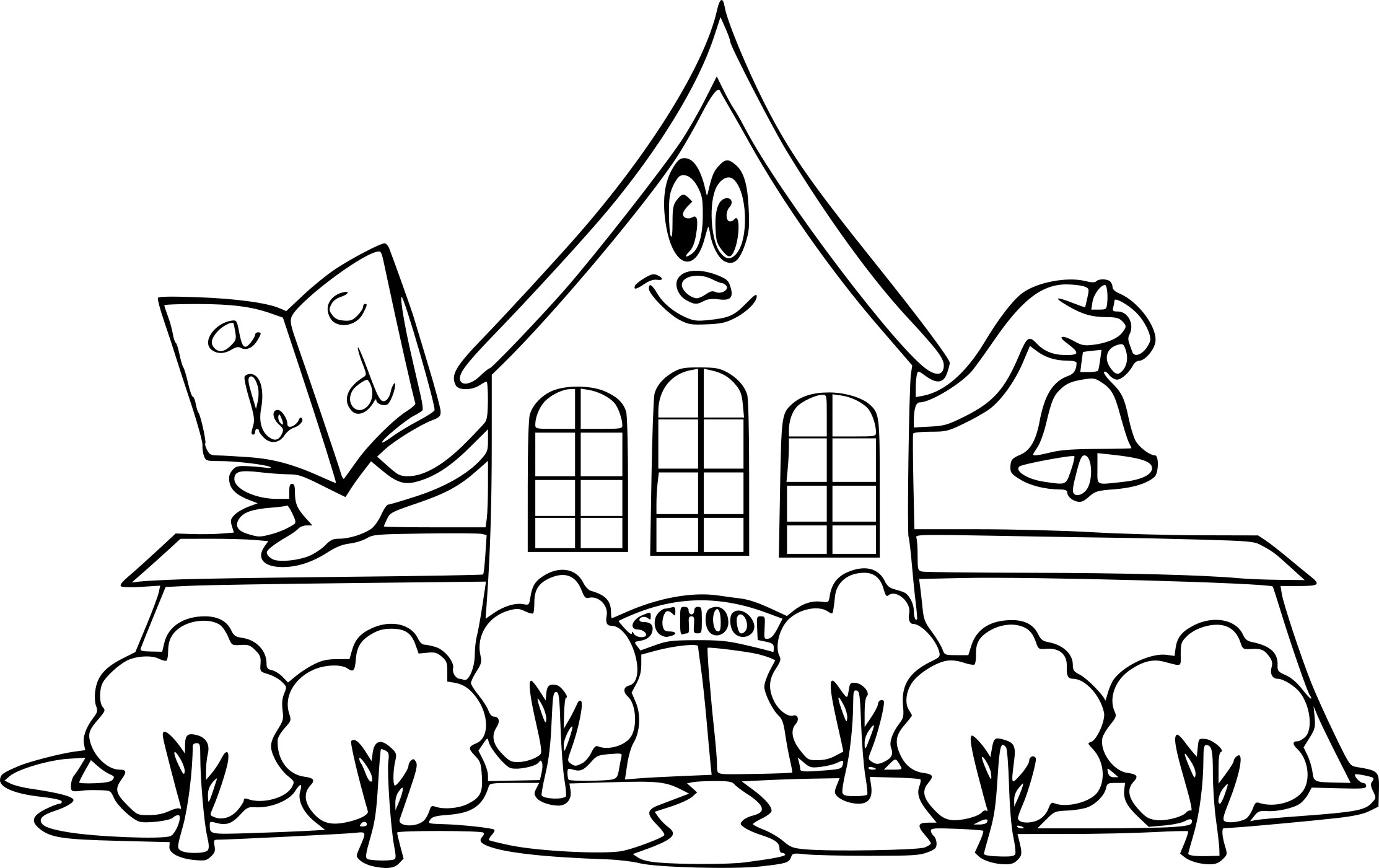 Coloriage Ecole Coloriageecole