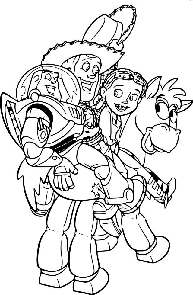 Coloriage Toy Story à imprimer