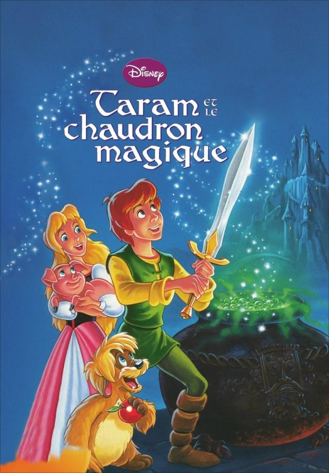 Coloriage Taram et le Chaudron magique à imprimer